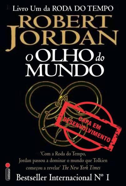 Fanart da capa brasileira. Fonte: https://www.facebook.com/ARodaDoTempo