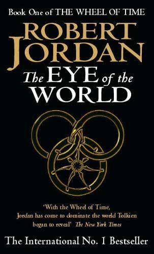 Capa da edição britânica de The Eye of the World
