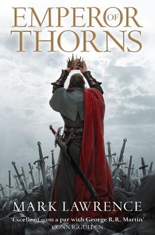 Emperor of Thorns capa