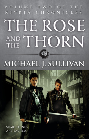 The Rose and the Thorn capa