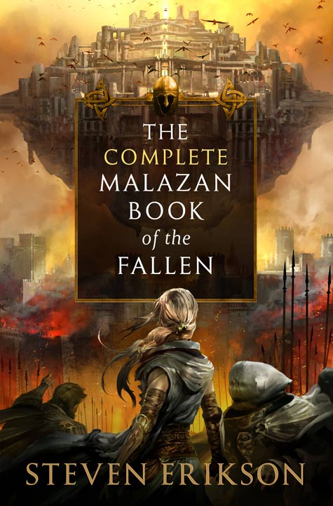 The Complete Malazan Book of the Fallen capa