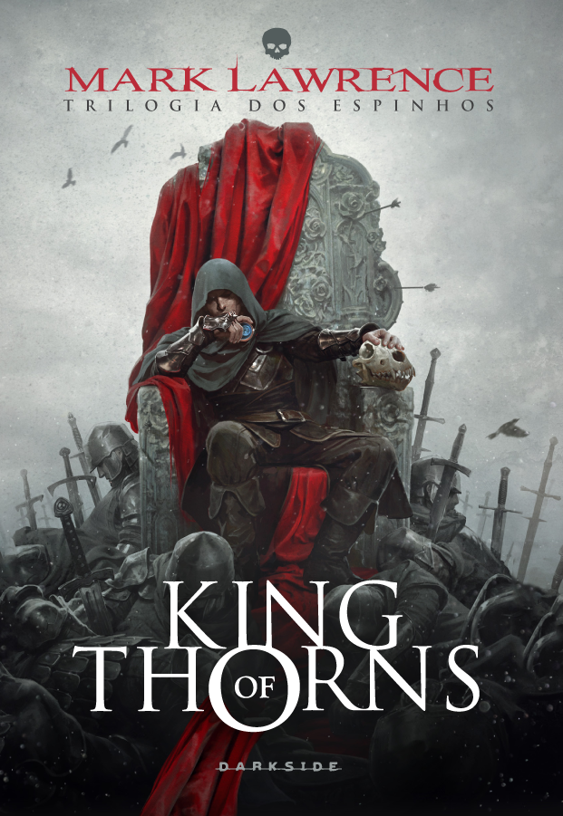 King of Thorns capa