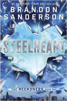 Nova capa de Steelheart (versão brochura)