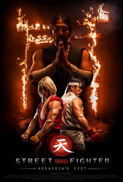 Poster oficial de Street Fighter: Assassin's Fist
