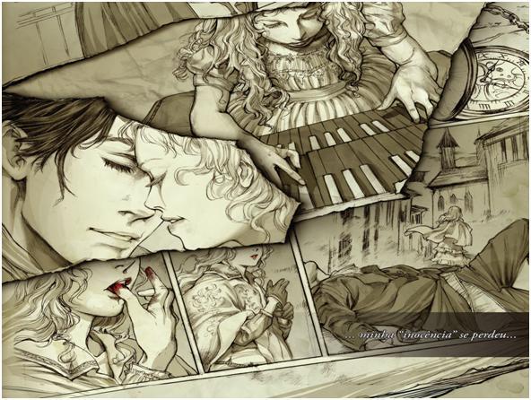A história de Cláudia ilustração