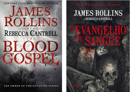 Capas das edições americana e brasileira