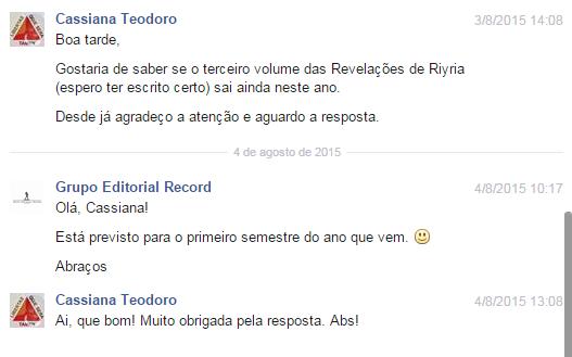 Revelações de Riyria