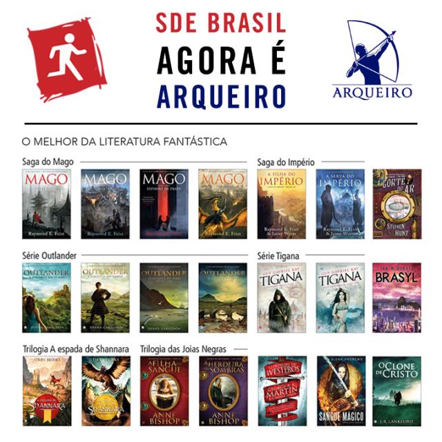 Fonte: Editora Arqueiro