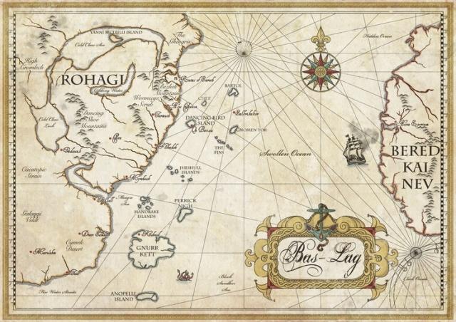 Bas Lag mapa